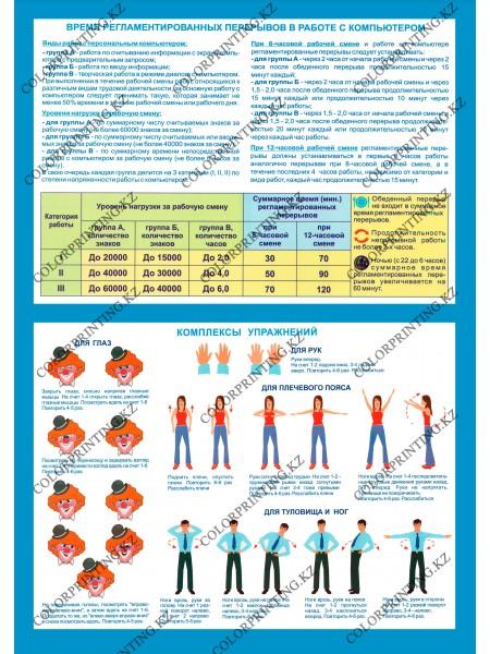 Компьютер и безопасность комплект из 2 плакатов