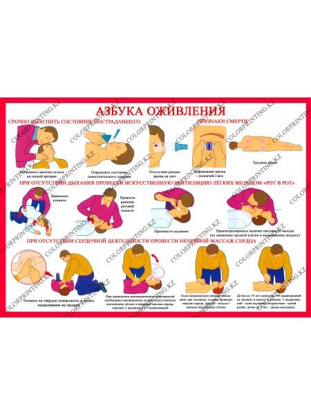 Азбука оживления 1 плакат