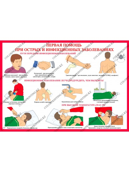 Первая помощь при острых и инфекционных заболеваниях