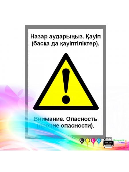 Внимание. Опасность (прочие опасность)